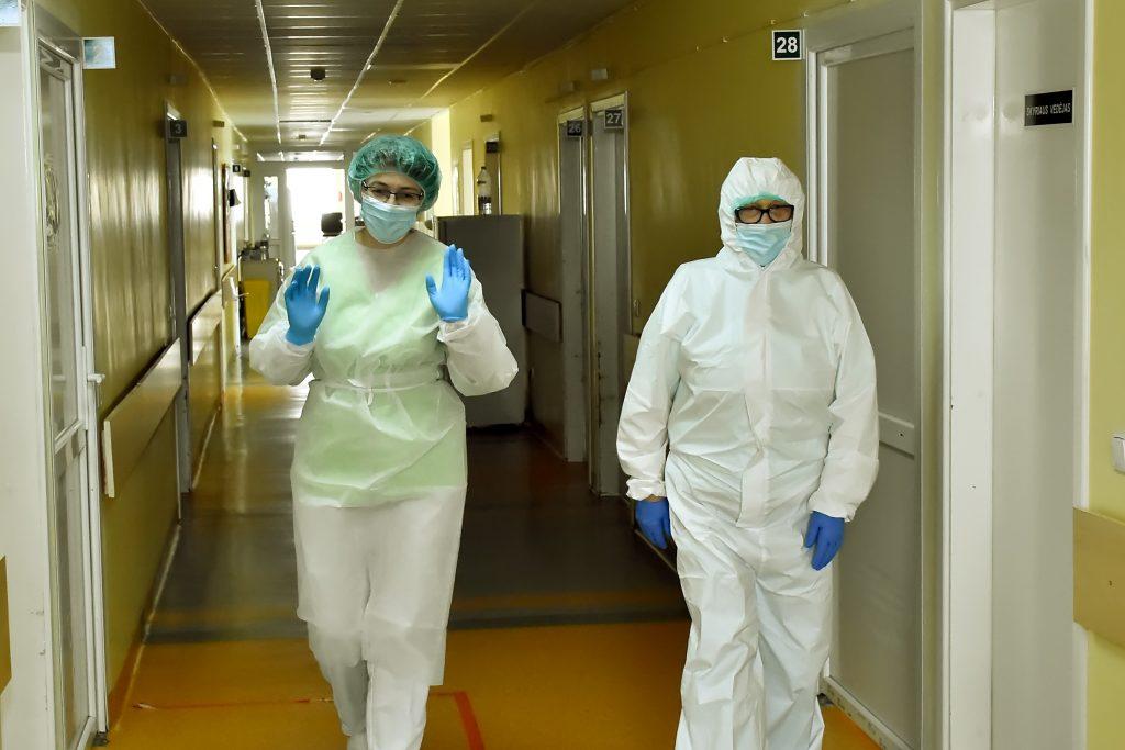 VšĮ Plungės rajono savivaldybės ligoninės darbuotojai